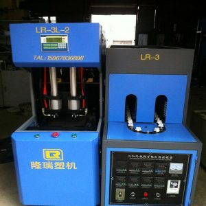 longrui semiautomatic PET bottle blowing machine