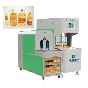 longrui semiautomatic oil bottle blowing machine